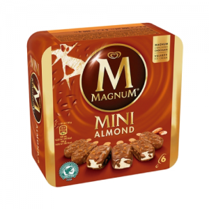 MAGNUM MINI AMENDOAS 6UN