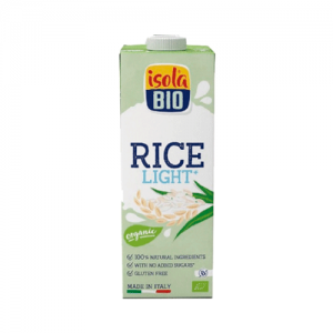 BEBIDA ARROZ LIGHT BIO ISOLA LT
