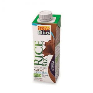 BEBIDA ARROZ+CACAU BIO ISOLA 250ML