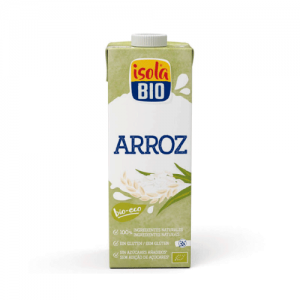 BEBIDA ARROZ ORIGINAL BIO ISOLA 1L